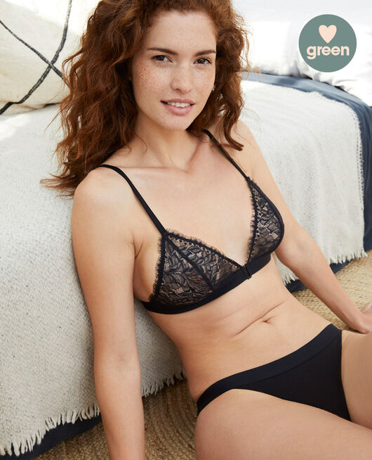 Soft cup bra Black Nuit