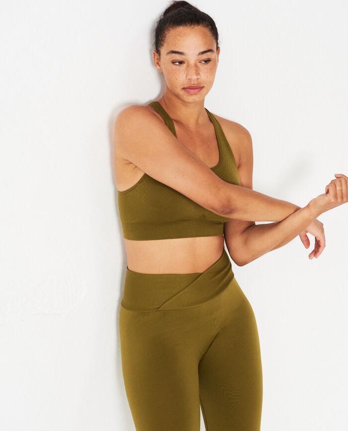 Legging de sport Vert bowie Yoga