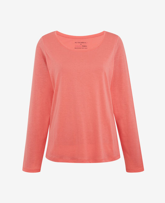 Long-sleeved t-shirt Funky pink Latte