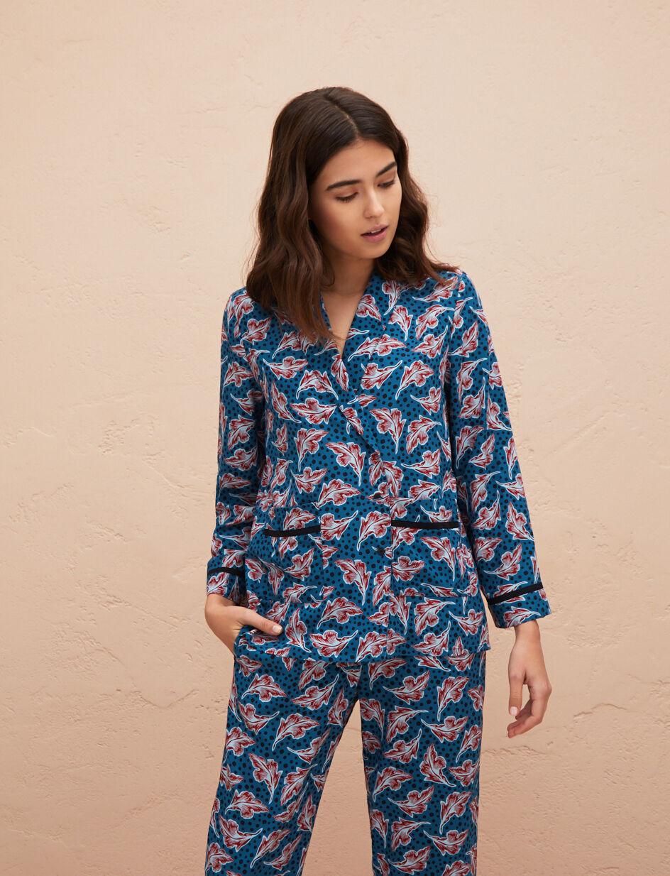 Pyjama Pour Femme Bahia Orient Couleur Veste Vert De Kimono qPwR7KZPH