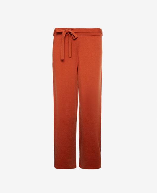 Trousers Cognac brown Soft