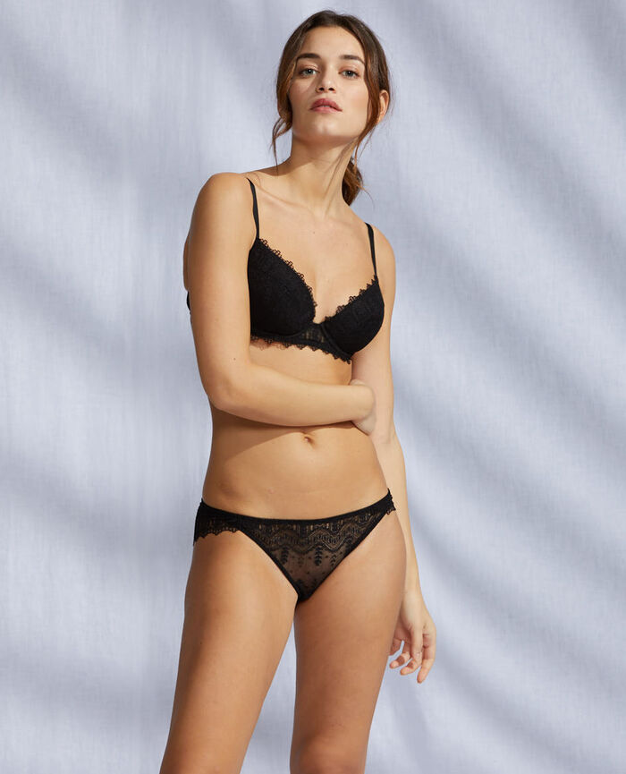 Hipster briefs Black Amour