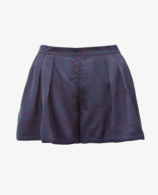 Pyjama shorts Dots blue Aurore