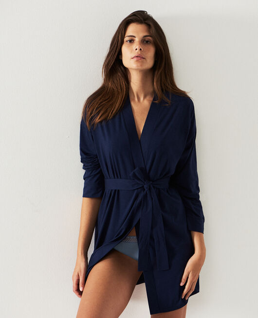 Bathrobe Navy Paresse