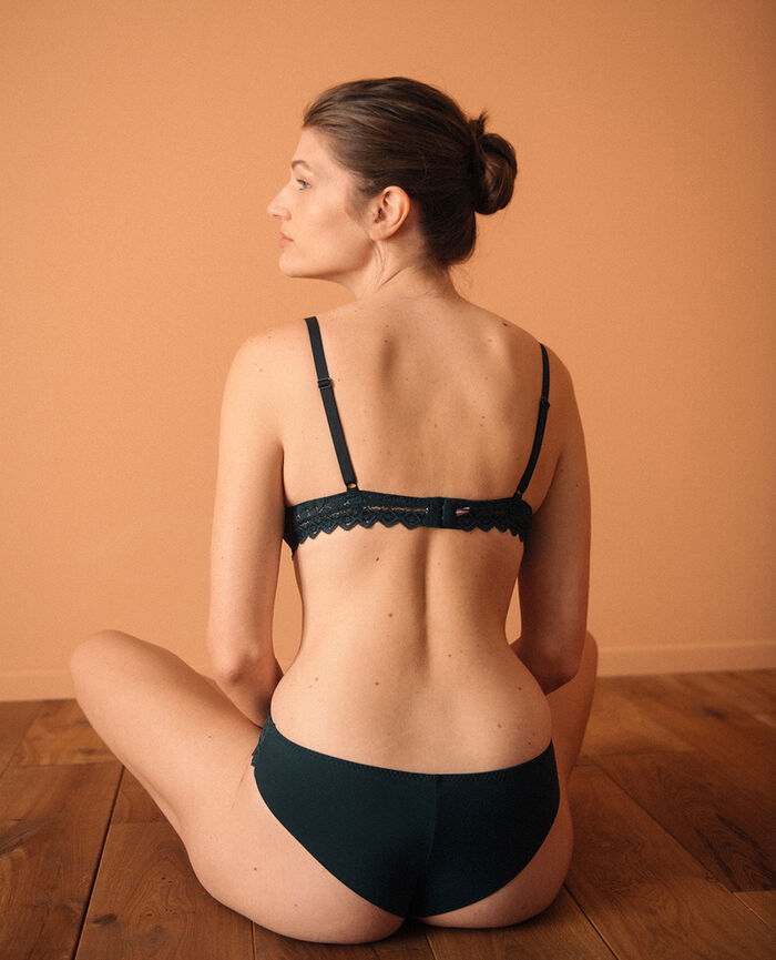 Soft cup bra Night green Confidence - the be cool