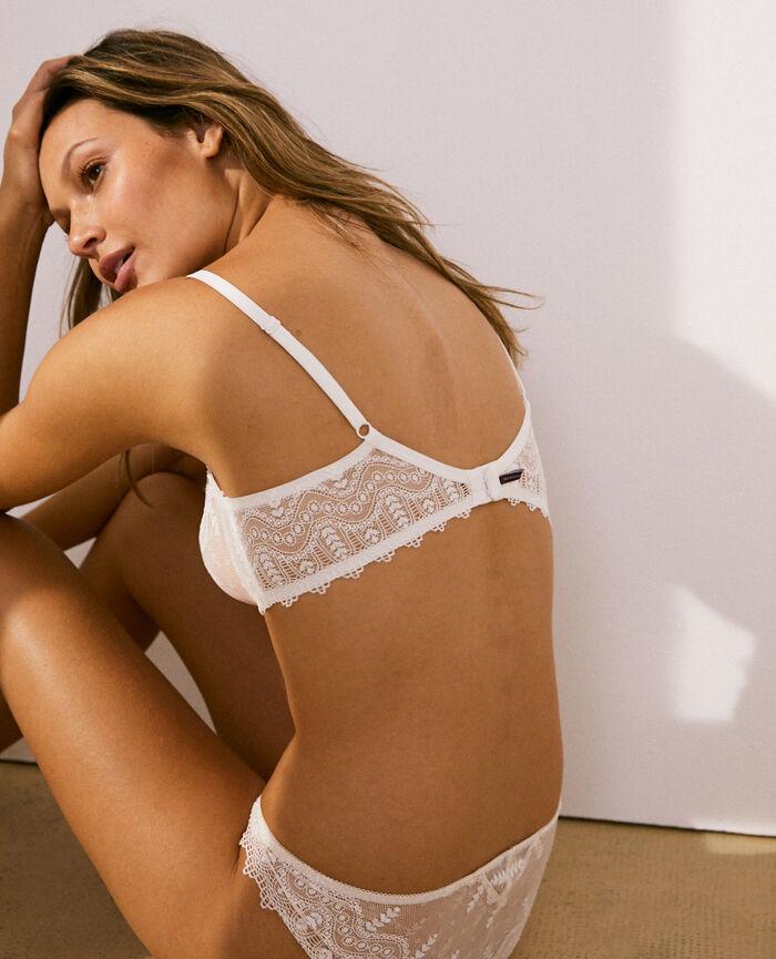 Balcony bra Ivory Amour