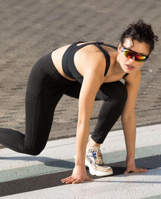 Long running legging Black Run