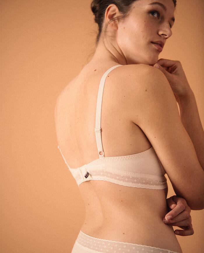 Wireless bra Rose white Infiniment - the feel good