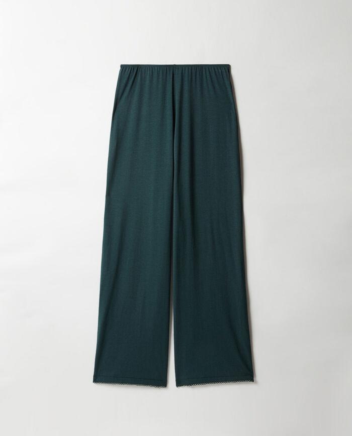 Trousers Night green Bonne nuit