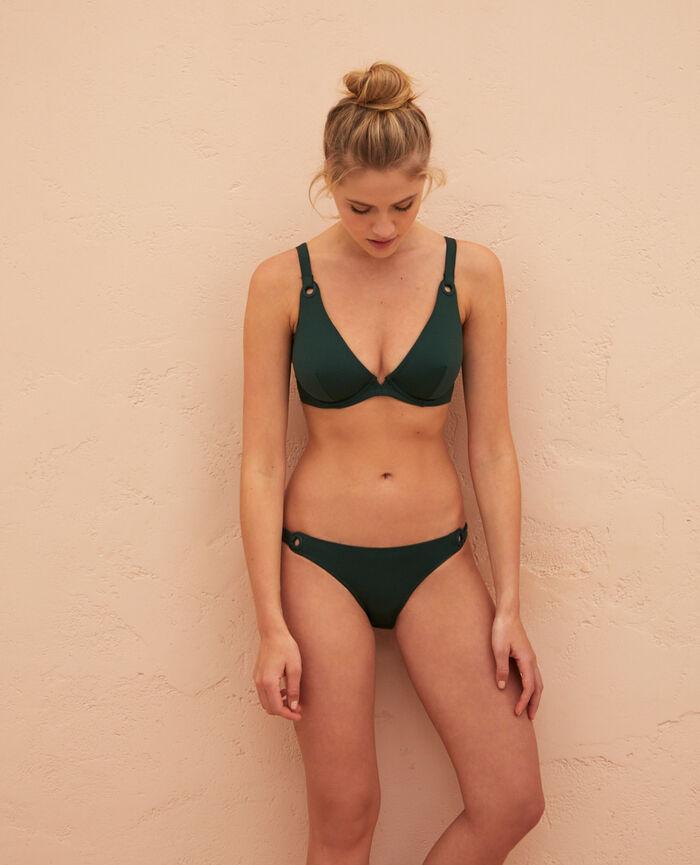 Culotte de bain bikini Vert céramique Impala