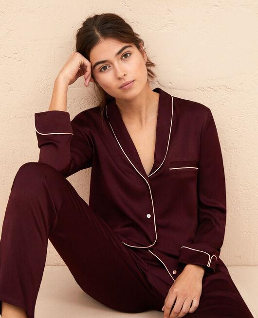 Veste de pyjama Prune Subtil