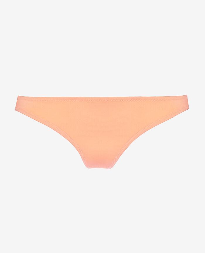 Culotte de bain échancrée Orange caprice Mix & match