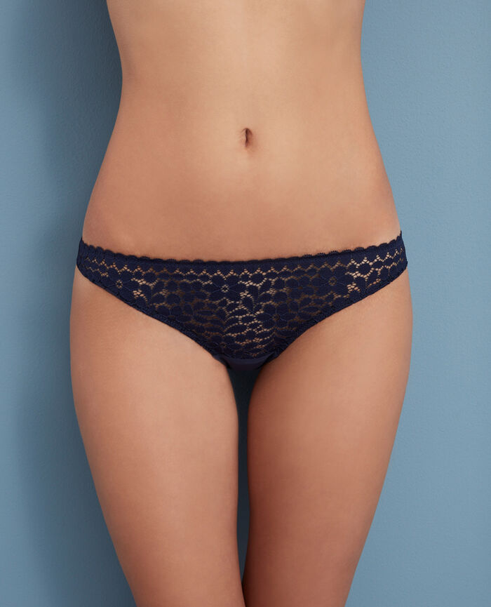 Hipster briefs Navy Monica