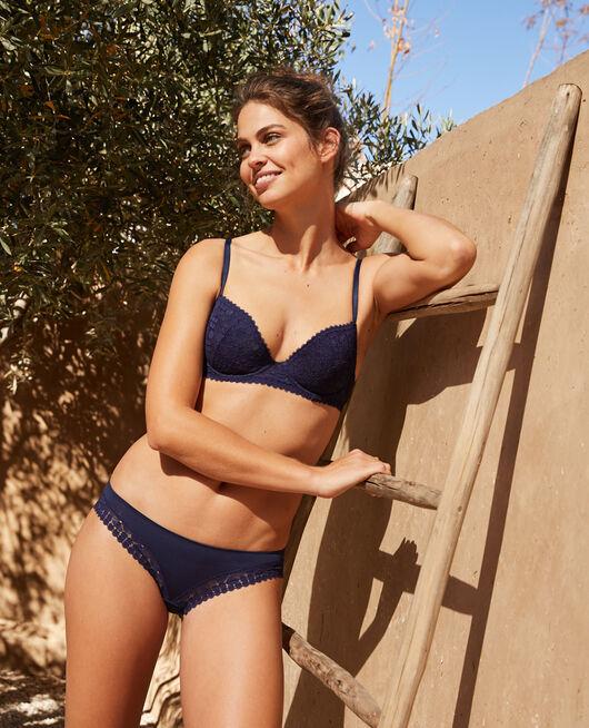 Culotte taille basse Bleu marine Josephine