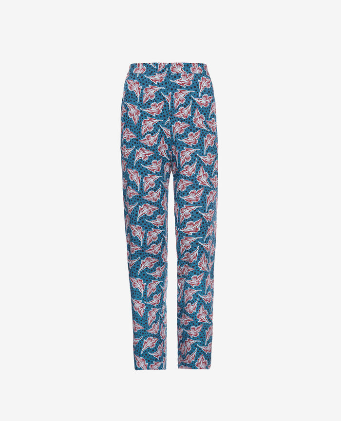 Pantalon de pyjama Orient vert Bahia
