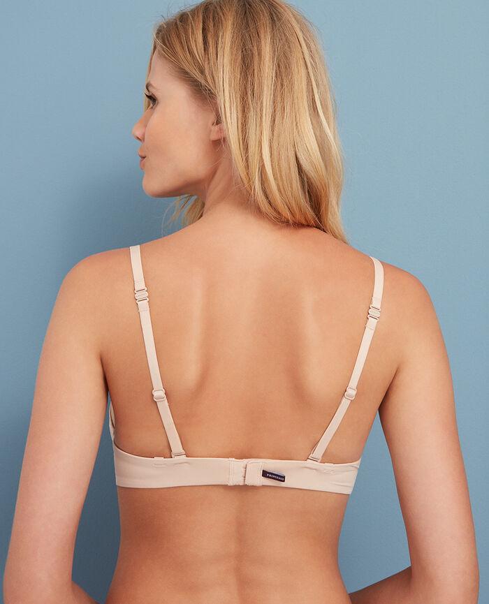 Mini-wire triangle bra Powder Make up
