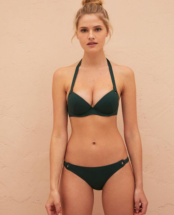 Push-up bikini top Ceramic green Impala
