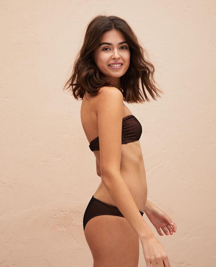 Strapless bikini top Black Jawahra