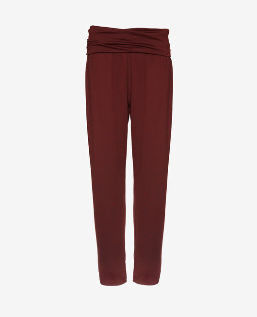 Sports trousers Cassis red Yoga