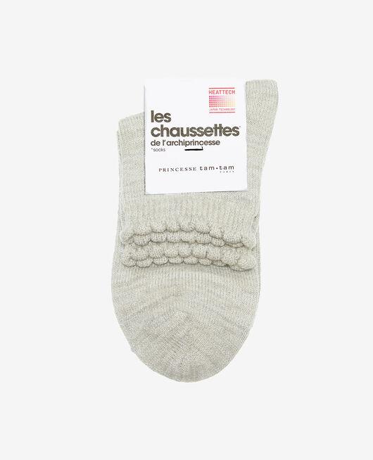 Chaussettes Gris chiné Sparkle