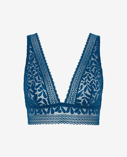 Soft bustier bra Deckchair blue Evidence