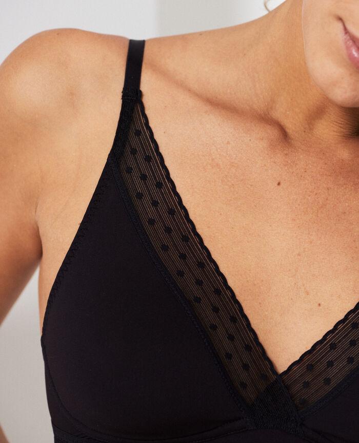Soft cup bra Black Infiniment