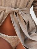 Cardigan manches longues Beige naturel Cosy