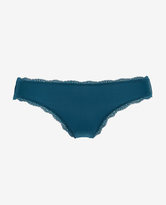 Culotte taille basse Bleu jazz Take away