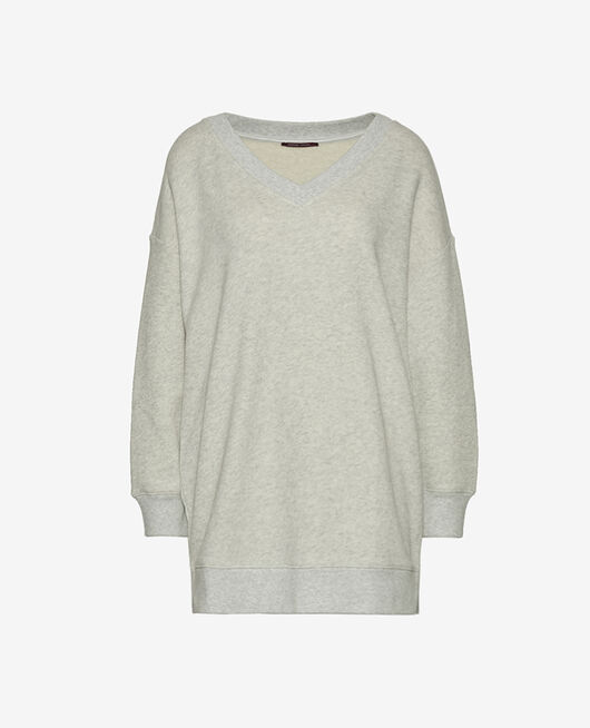 Long-sleeved tunic Flecked grey Doudou
