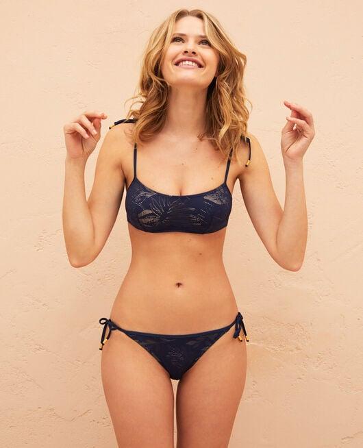 Bikini slip Midnight blue Gueliz