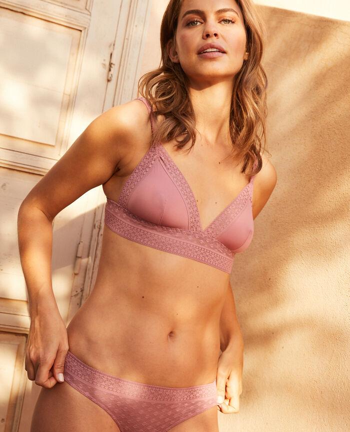 Soft cup bra Tango pink Simone