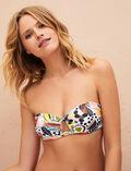 Strapless bikini top Multicolour Jujube