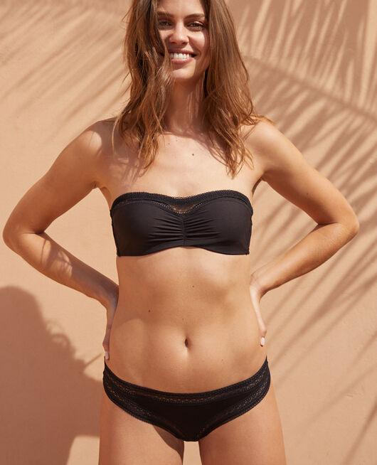 Strapless bra Black Eclat