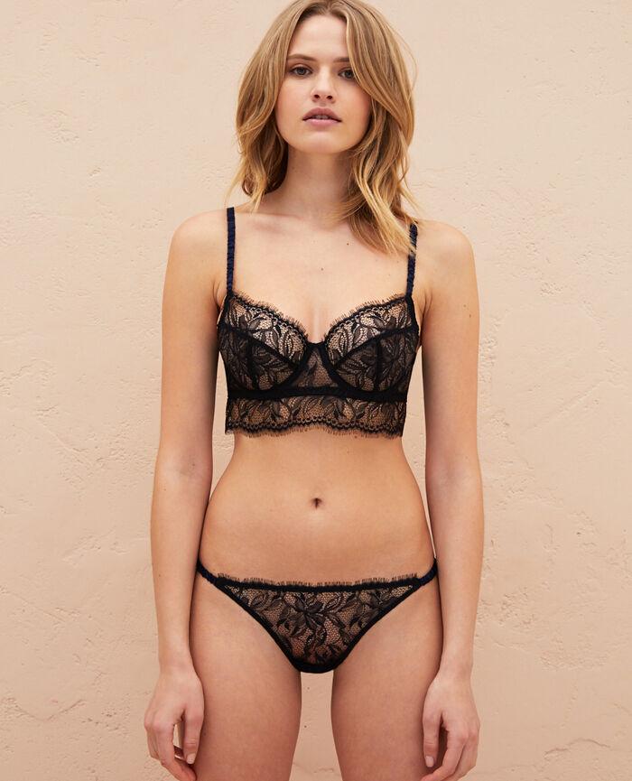 Bustier bra Black Epice