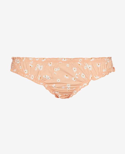 Culotte froufrou Paquerette rose abricot Take away