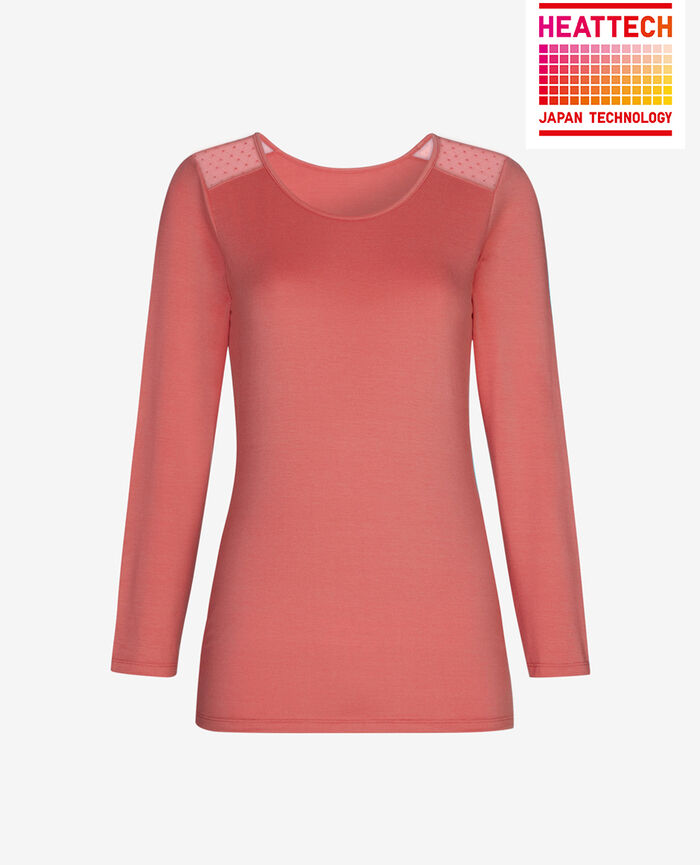 T-shirt manches longues Rose cuit Innerwear
