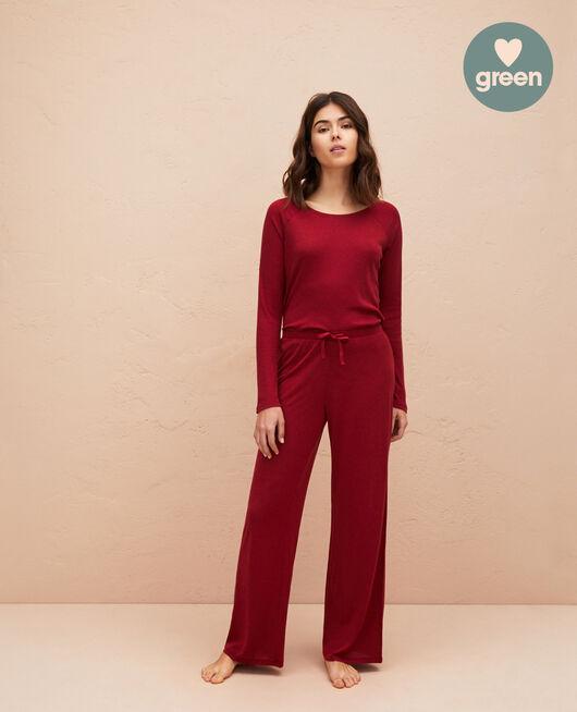 Pyjama trousers Henne brown Latte organic