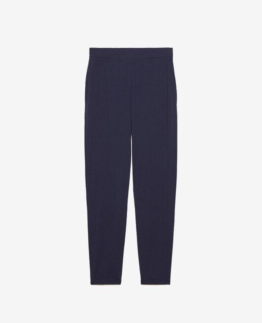 Pantalon carotte Bleu marine Paresse