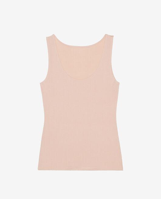 Vest top Powder beige Heattech® innerwear