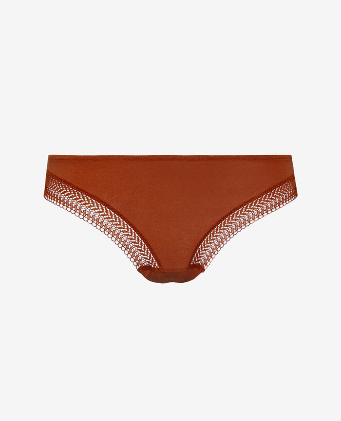Culotte taille basse Ginger bread Coton