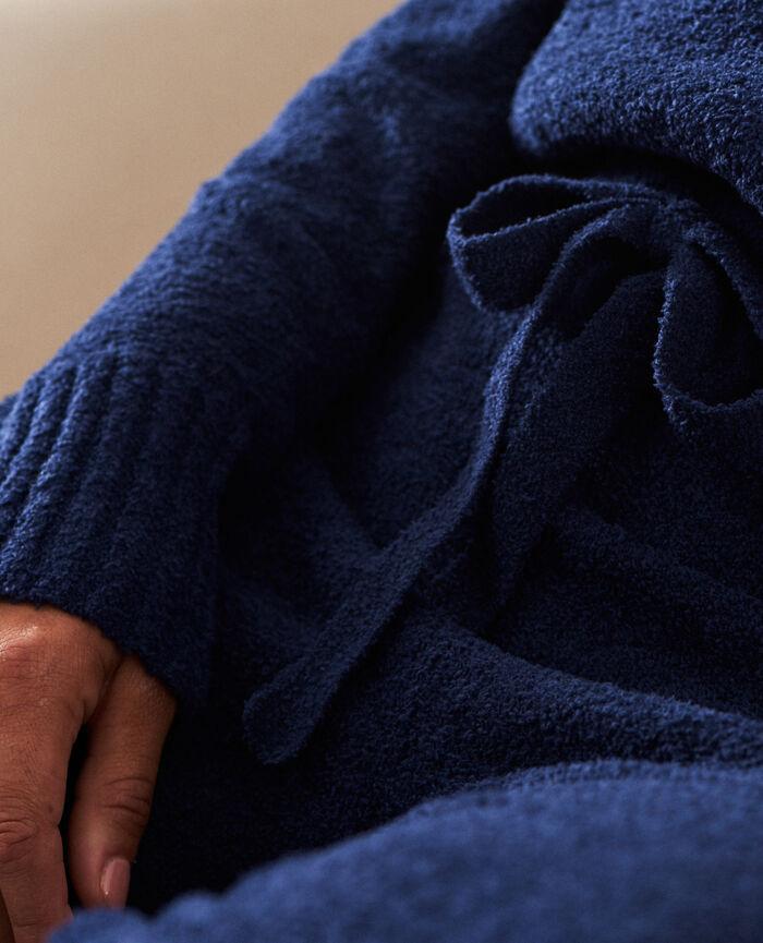 Sweat à capuche Bleu marine Vip