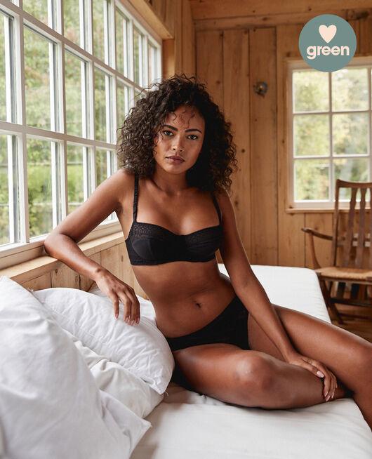Half-cup bra Black Simone
