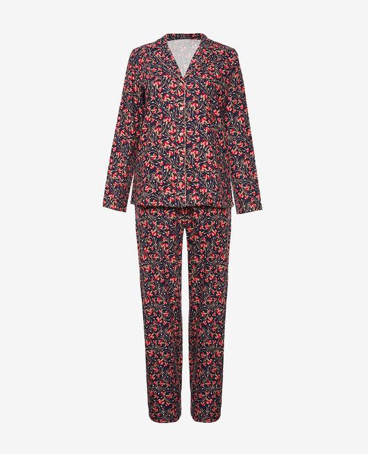 Set pyjama Oeillet bleu Flanelle