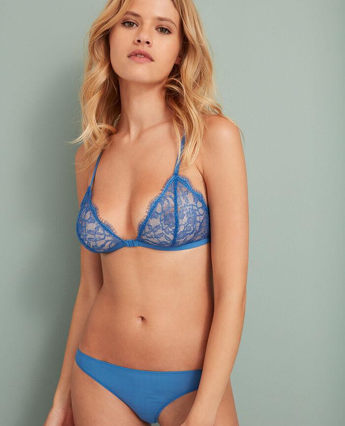 Culotte taille basse Bleu river Taylor