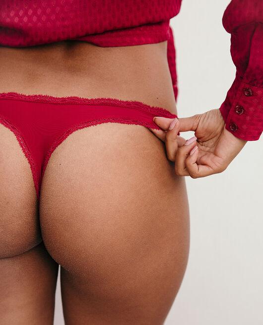 Tanga Rouge camelia Take away