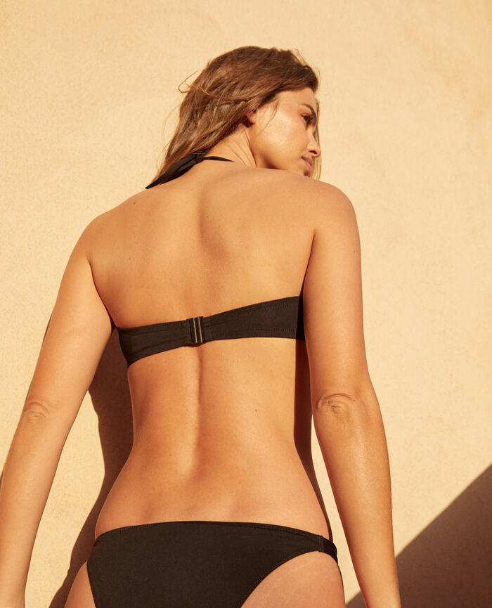 Strapless bikini top Black Impala
