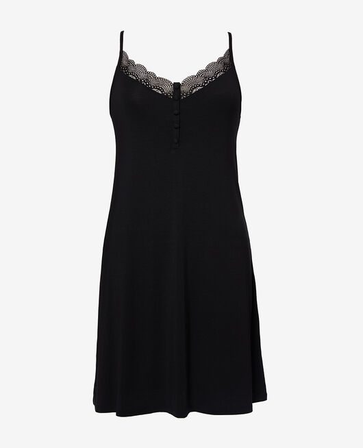 Short nightie Black Reverie