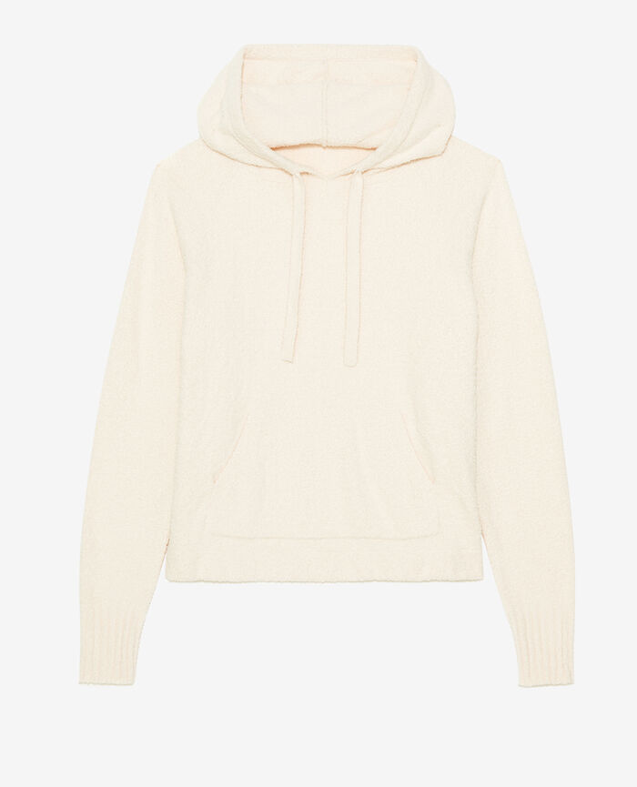 Sweatshirt with hoodie Rose white Vip