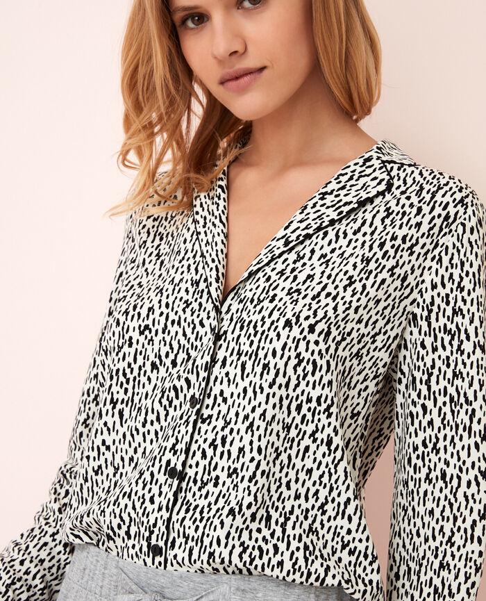 Pyjama jacket Wild white Darling