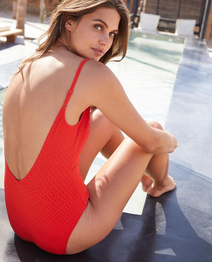 Swimsuit Pamela red Allure
